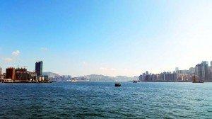 landscape of Hongkong